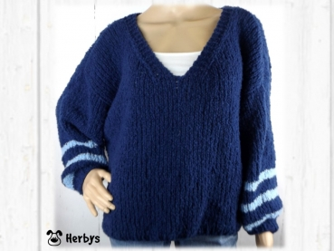 "Strickanleitung Oversize - Pulli ""Le Chic"""