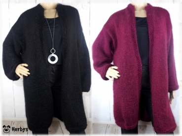 "Strickanleitung Longjacke ""Soft Dream"""