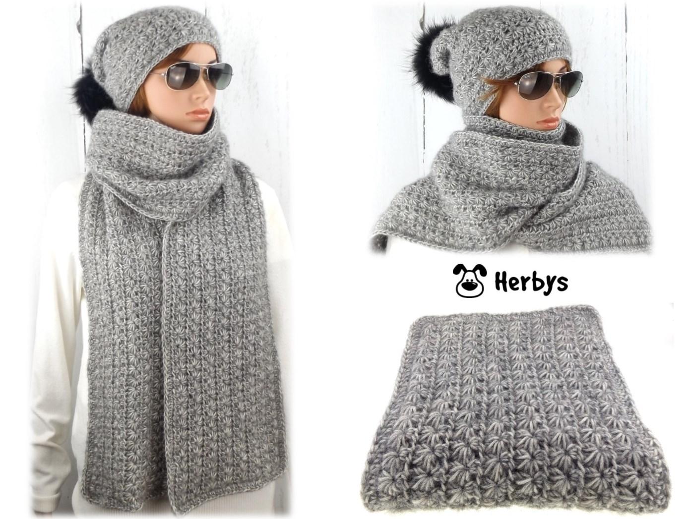 Herbys-Trendartikel - Häkelanleitung Schal
