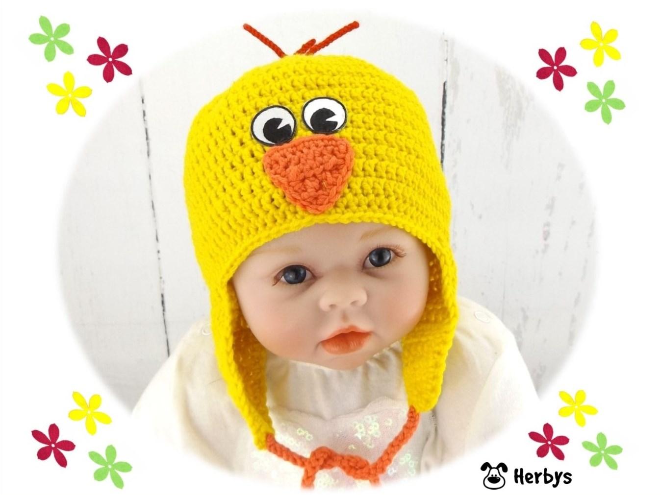 Herbys-Trendartikel - Häkelanleitung Babymütze