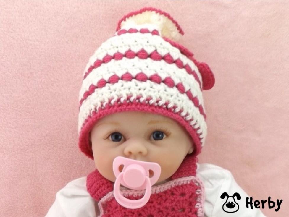 Herbys Trendartikel Häkelanleitung Babymütze